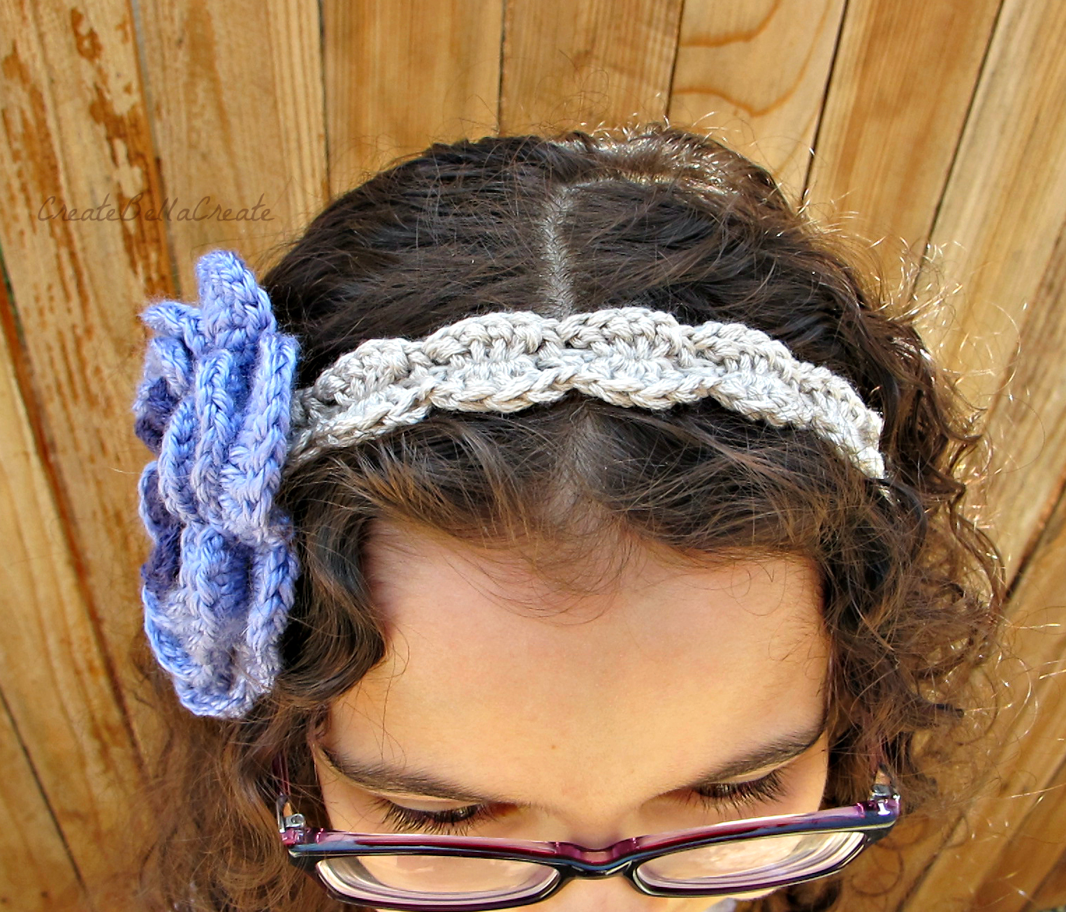 createbellacreate: Free Shell Crochet Headband Pattern