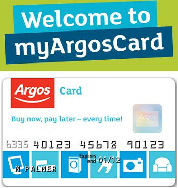 Access Argos Card Online on MyArgosCard.co.uk