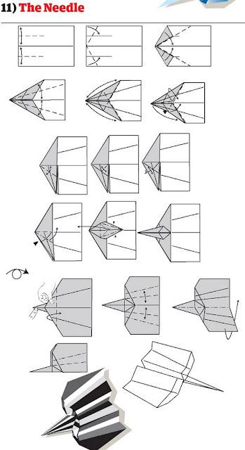 бумажный самолетик 17