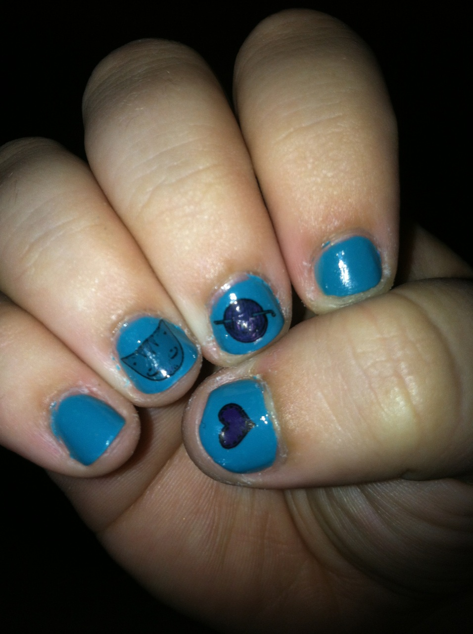Sandpiper Cat: Review/Giveaway: Ella Goodwin Nail Decals on Etsy!