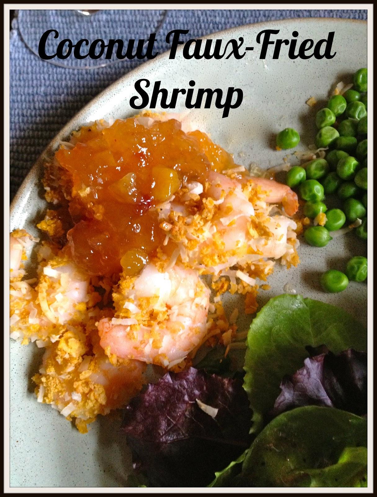 Coconut Faux-Fried Shrimp   I do deClaire
