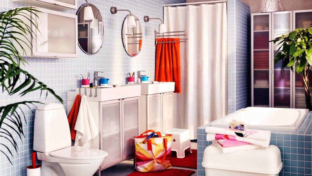 rangement armoire de douche