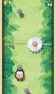 Screenshots of the Sling Kong for Android tablet, phone.