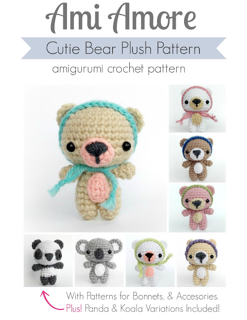 Bear Amigurumi Pattern
