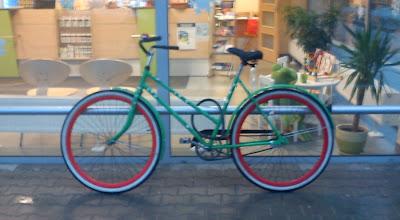 Rower miejski w Poznaniu - rower holenderski