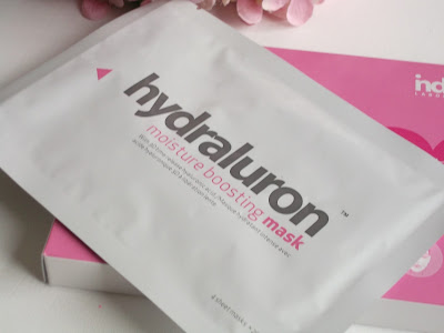 Review of Indeed Laboratories Hydraluron moisture boosting Face Mask