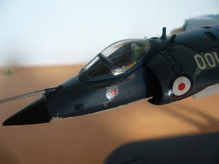 avión en miniatura Royal Navy Sea Harrier