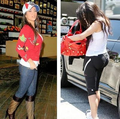 Kardashian  on Kim Kardashian Before And After Plastic Surgery