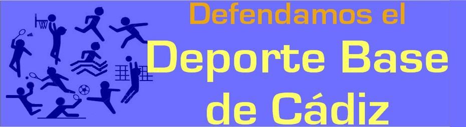Defendamos el Deporte Base de Cádiz