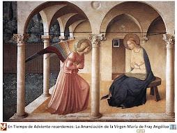 Anunciación de María de Fr. Angélico