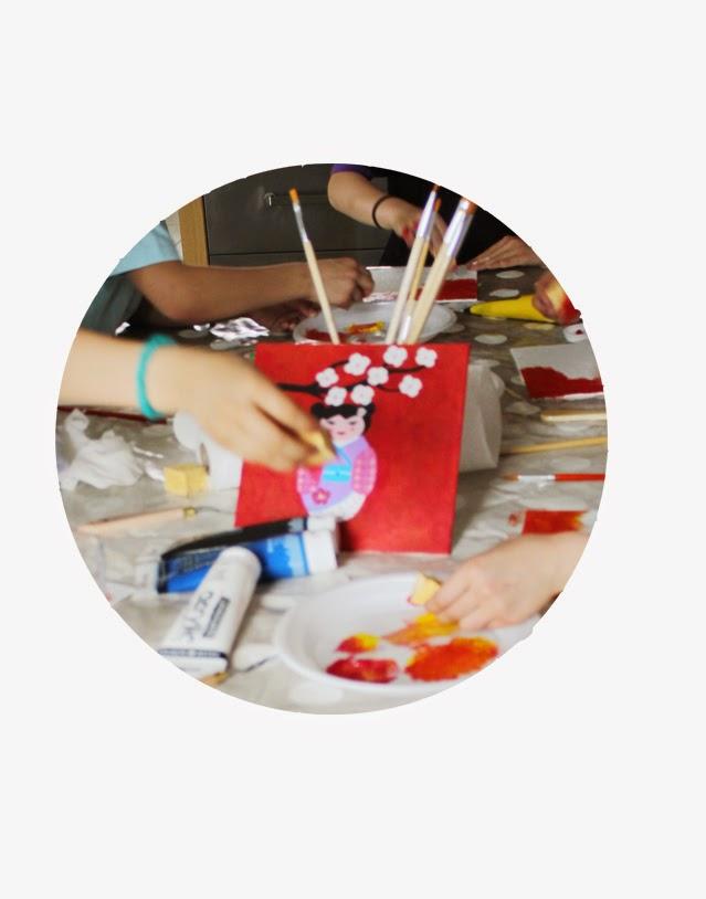 les ateliers de lan et les Coquillettes