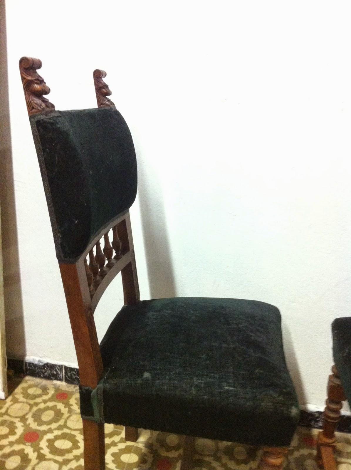 Decoraci n vintage antiguitats baraturantic sillas - Tapiceros en reus ...