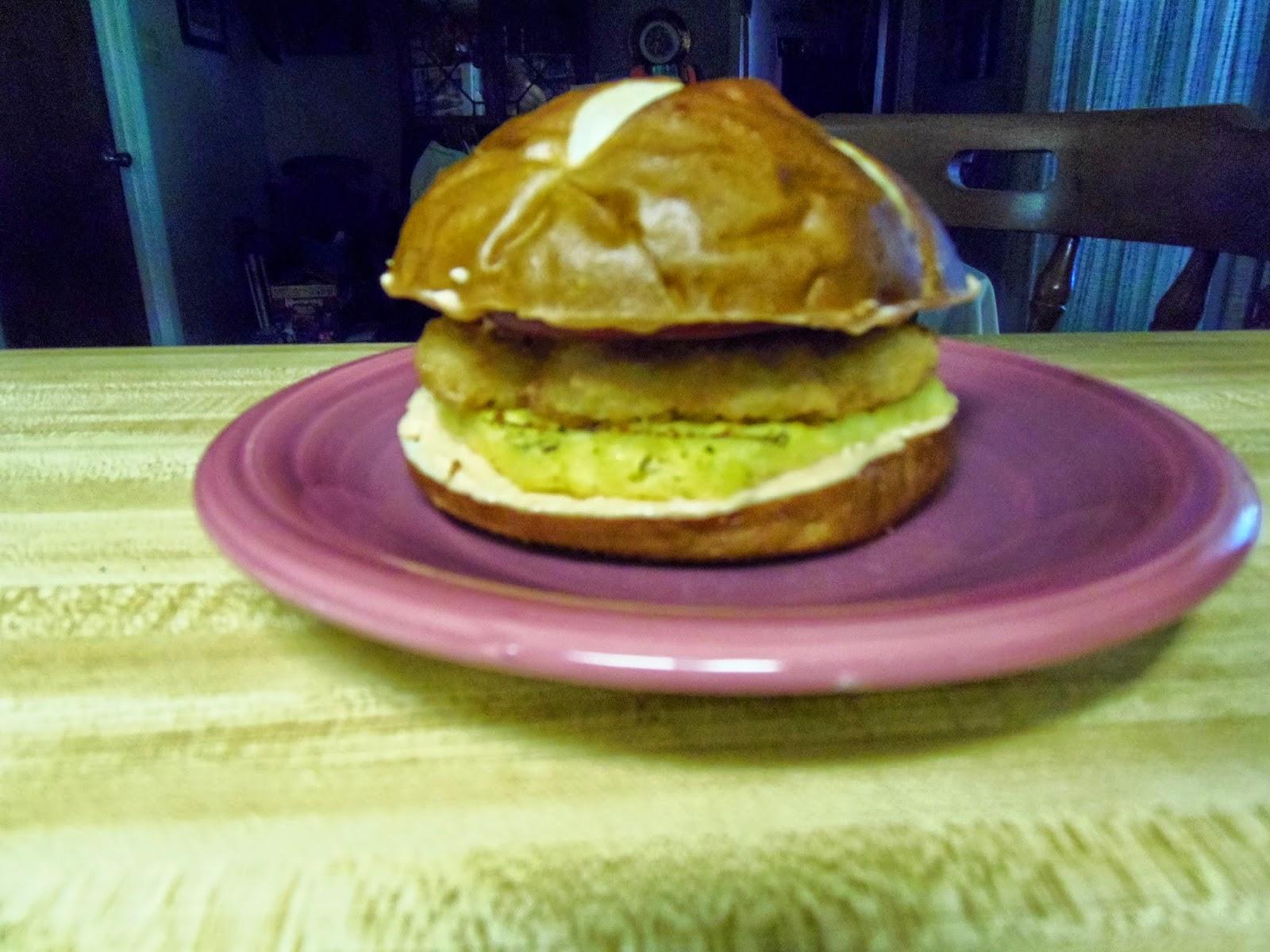 crispy chick'n sandwiches