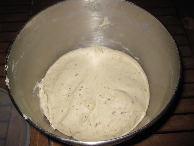 Brotteig, gehen lassen, Homemade Bread