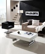 Mesa de centro elevable con mando a distancia y extensible