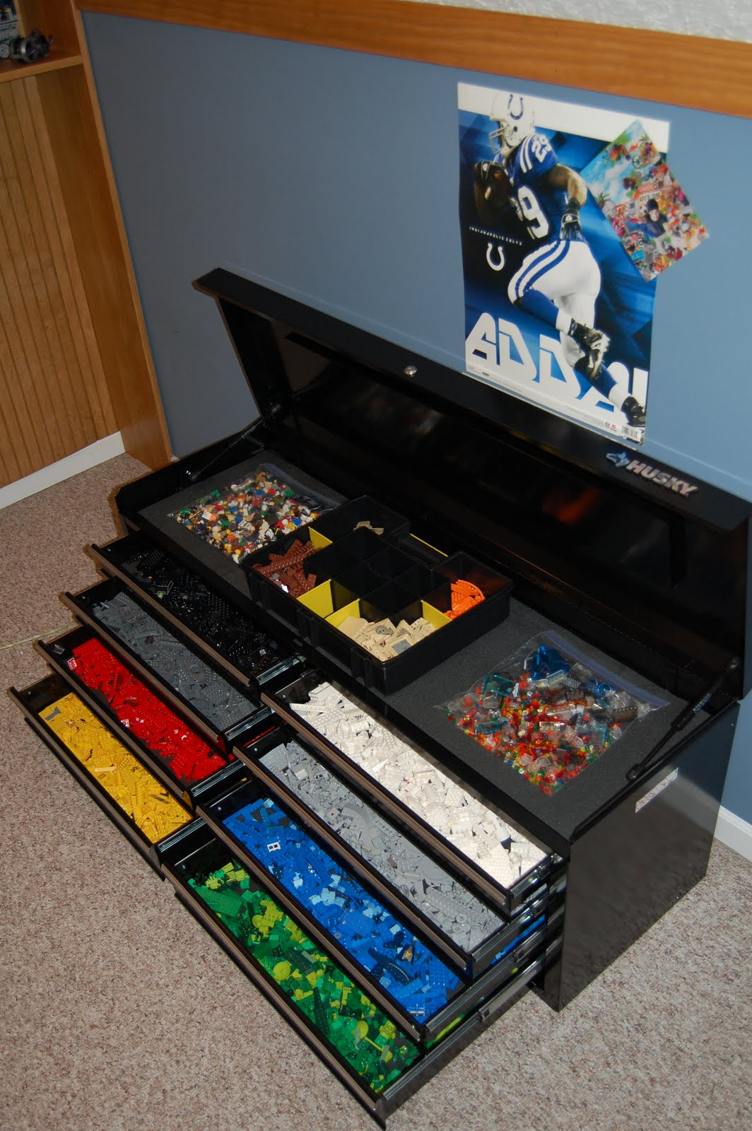 Q: What Are Your Suggestions For LEGO Storage With A Small Baby In The  House?
