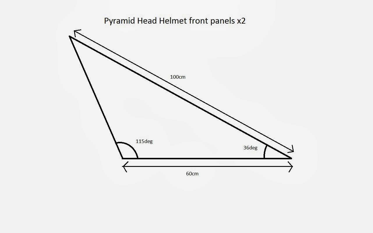 Into the mind of Oddness: Pyramid Head Helmet Tutorial