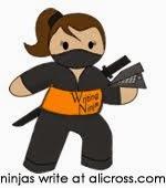 I'm a ninja, a writing ninja!