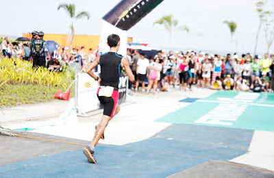 don't run fast baby boy! triathlete
