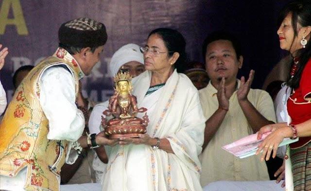 Mamata Banerjee announced 10 crore to Tamang Development Board on foundation day