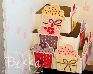 Create a Cupcake Pop Up Card