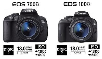 Canon EOS 700D and Canon EOS 100D, Canon EOS 100D, new Canon DSLR camera