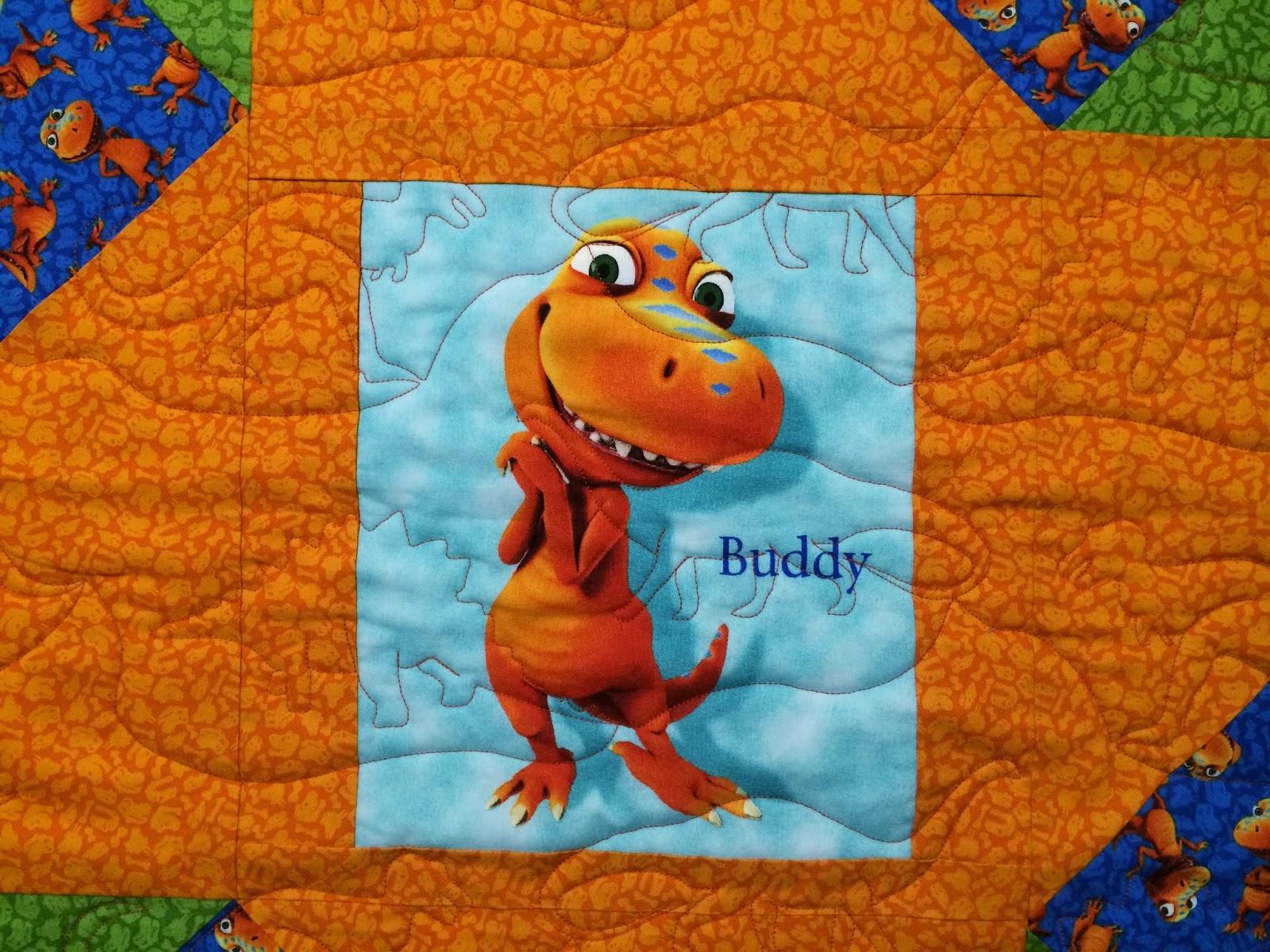 Camilla Sloan's Buddy Dinosaur Train Quilt