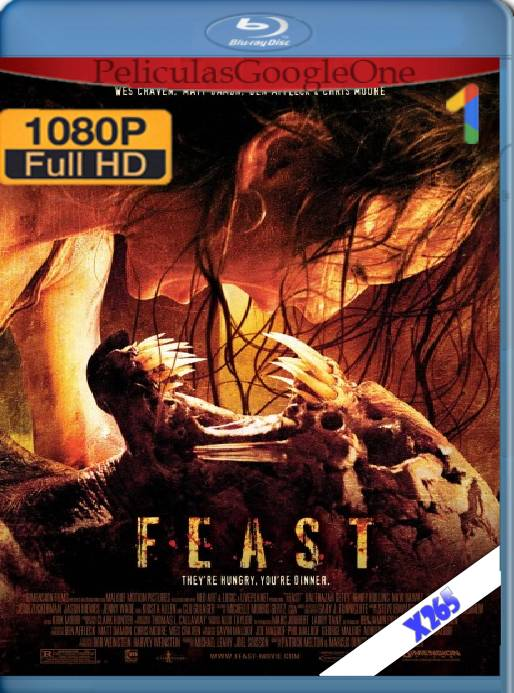 Feast Cacería Voraz (2005) x265 [1080p] [Latino] [GoogleDrive]
