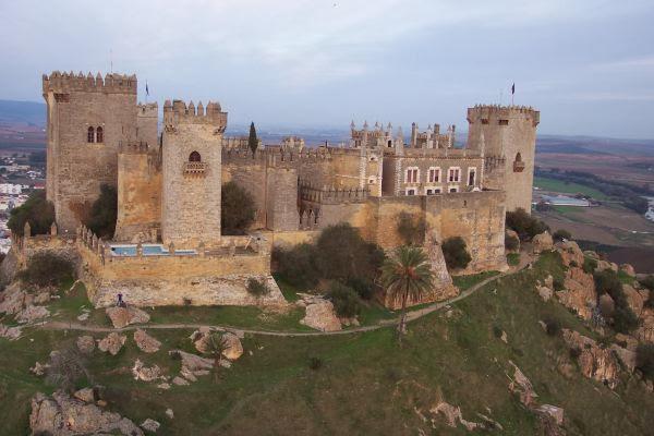 Castillo de Almodovar en Córdoba