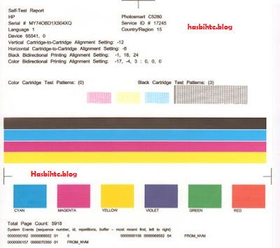 Cara Mudah Test Print Page Tanpa Komputer
