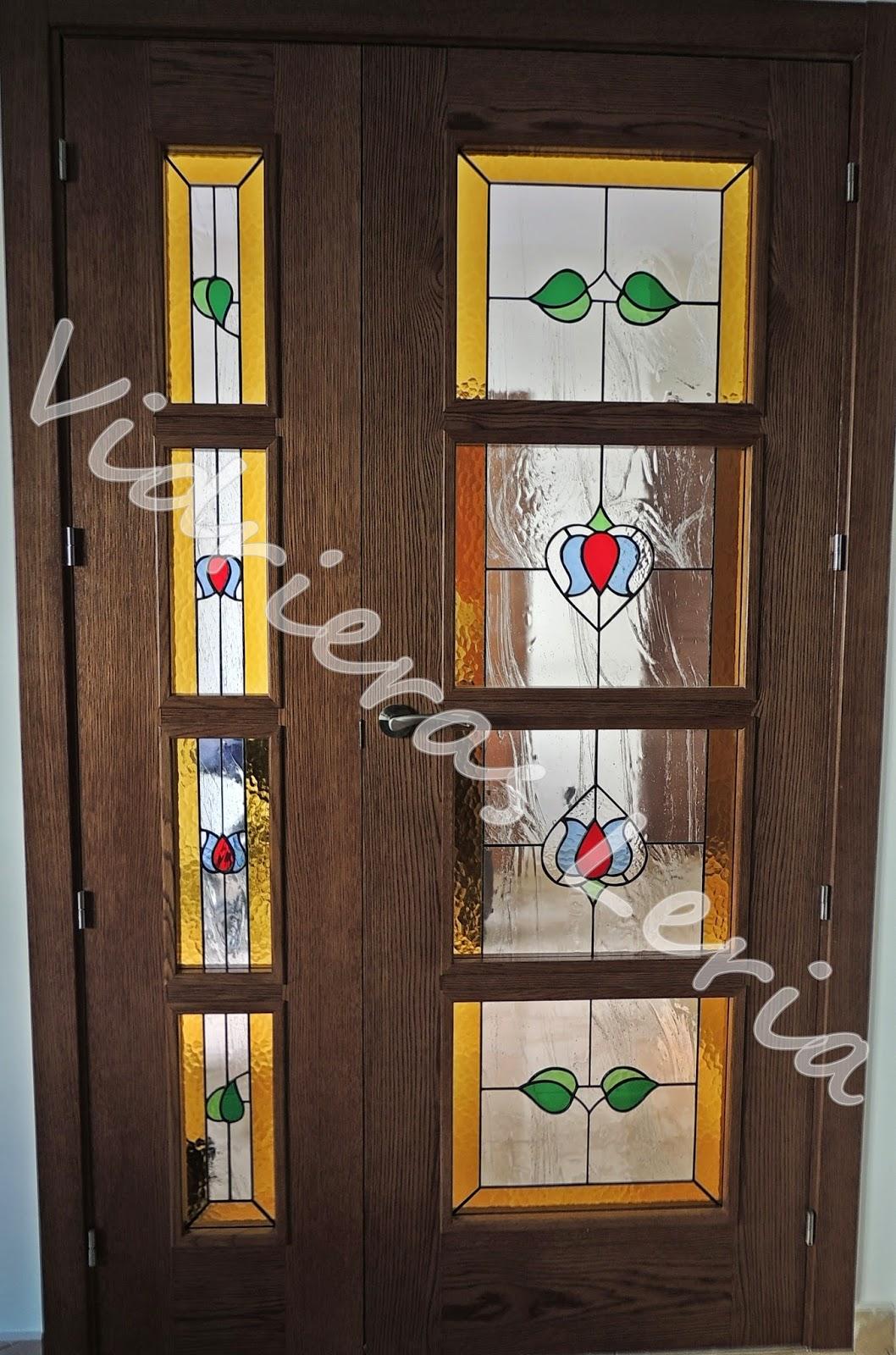 Vidrieras artesanas leria vidrieras tiffany puertas - Vidrieras para puertas ...