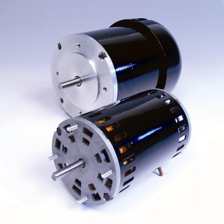 Ac motor mounting types ac motor kit picture for Types of dc motor