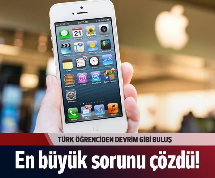 Türk öğrenciden dünyayı sarsacak buluş