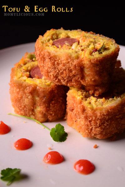 Tofu & Egg Rolls