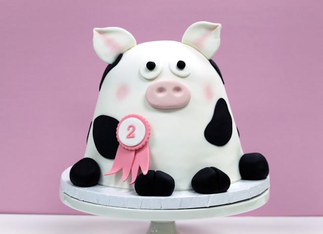 Minneapolis Kids Birthday Cake - Baby Animal