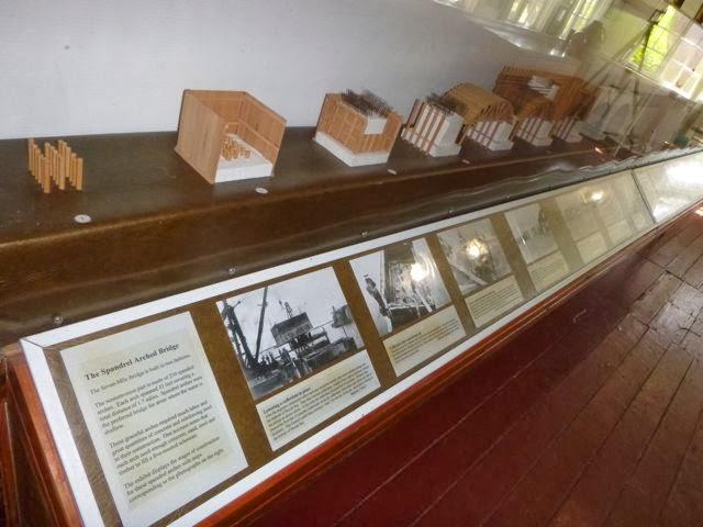 pigeon key museum display
