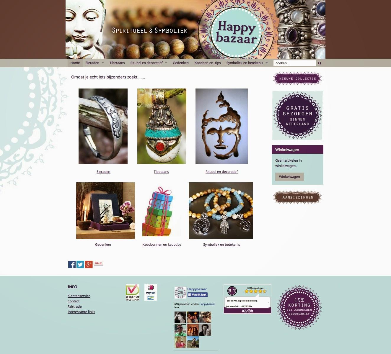 Webshop Happybazaar