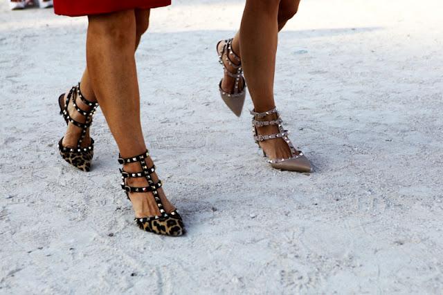 Zapatos Estilo Valentino Rockstud