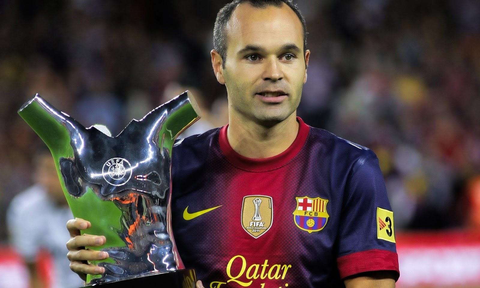 Andres iniesta new fc barcelona club captain 2015 hd for Club de fumadores barcelona