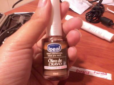 fortalecedor unhas oleo de cravo