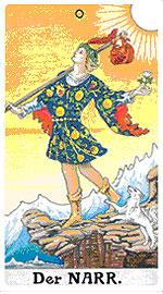значение на Таро карта 0. Глупакът - хороскоп за 2015 година