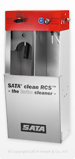 SATA Spray gun cleaning machine