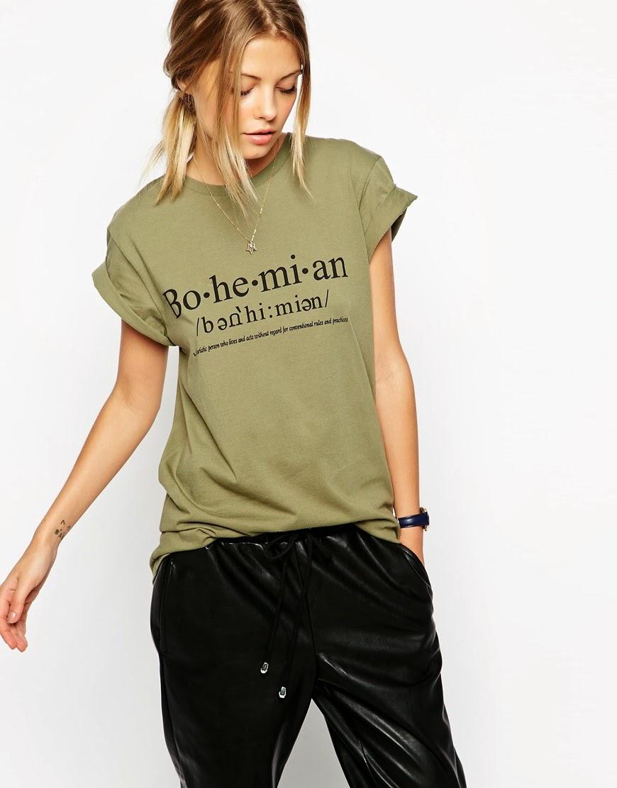 bohemian tshirt, bohemian tee,