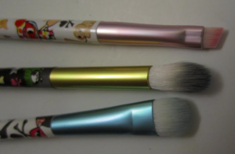 tokidoki makeup brushes. tokidoki pittura brush set makeup brushes