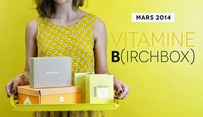 Birchbox mars 2014