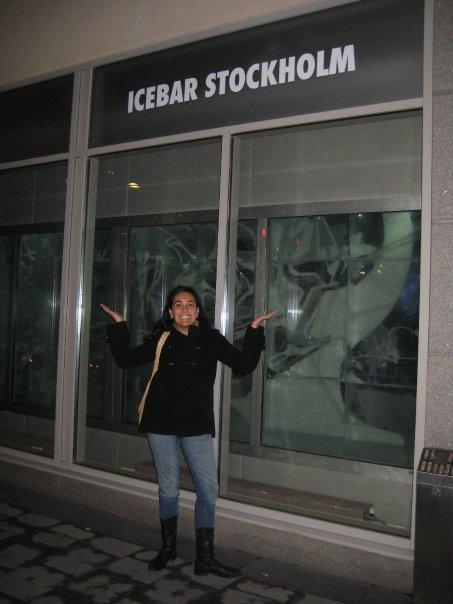 Experiências de viagens: Icebar Estocolmo ou Stockholm