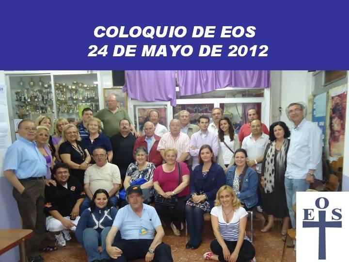 Coloquio fin de curso 2012