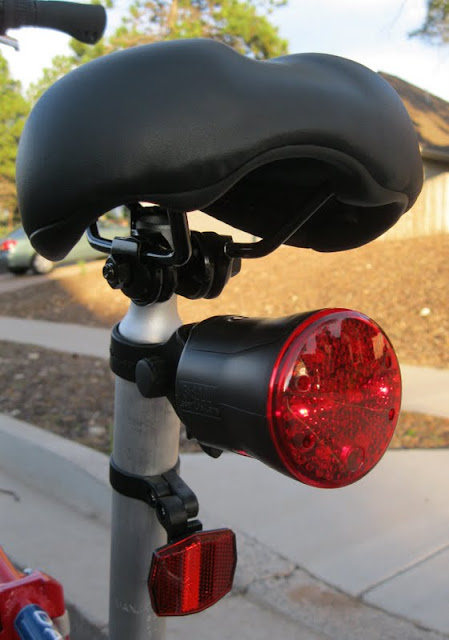 The Laser Lite Lane as attached to my Dahon