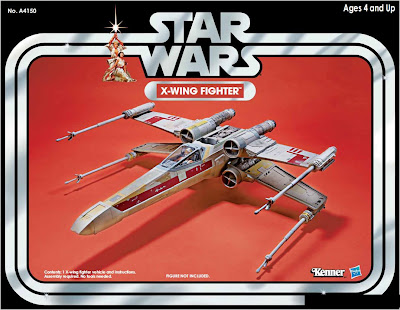Hasbro Star Wars Vintage Collection X-Wing Fighter vehicle - exclusive