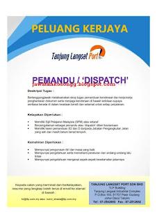 Jawatan Kosong Terkini Tanjung Langsat Port Sdn Bhd